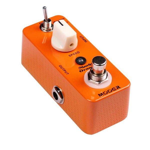 ☆ 唐尼樂器︵☆ Mooer Micro Series Ninety Orange Phaser 迷你電吉他/電貝斯 Bass 相位效果器