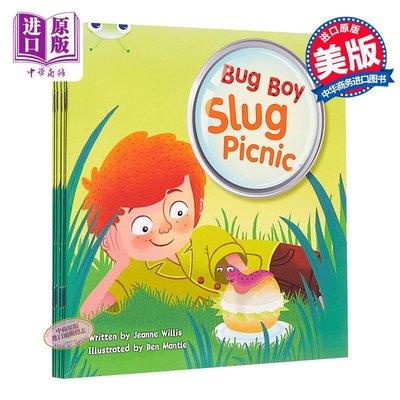 蟲蟲男孩:蛞蝓野餐 英文原版 BC BUG BOY: SLUG PICNIC YELLOW B Pearson