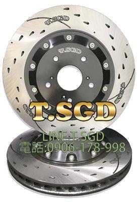 T.SGD專利加大碟 CRV3 CRV4 CRV5代 345MM 競技流星碟盤 18吋鋁圈 前剎車盤 延長座 專利