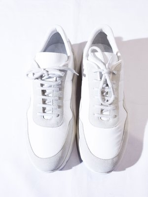 Common Projects Platform casual shoes.(White) 白色 休閒鞋