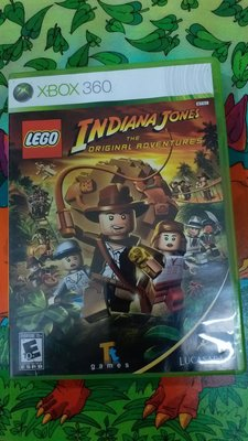 XBOX 360 LEGO INDIANA JONES NTSC