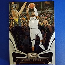 Panini Certified18-19 D'Angelo Russell閃卡