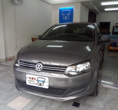 Volkswagen POLO-A柱+B柱+C柱+四車門下方+尾門上方+尾門左右側+後擋雨切 套裝組【靜化論】