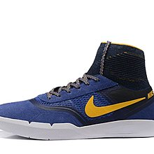 D-BOX NIKE SB HYPERFEEL KOSTON 3 藍色 黃勾 襪套 街頭百搭 滑板鞋 運動鞋 男鞋