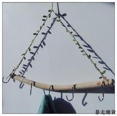 乾花 園藝裝飾 diy裝飾 創意手工衣掛裝飾掛件田園鄉村工藝品壁掛松果藤圈干花壁掛