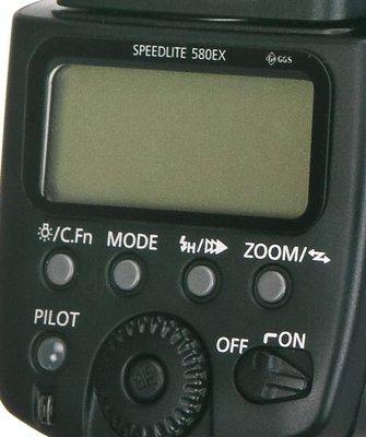 呈現攝影-GGS 金剛防爆玻璃保護貼(第二代)液晶螢幕 8H 6層 耐磨 耐刮 防撞擊 580Exll 580Ex  ※