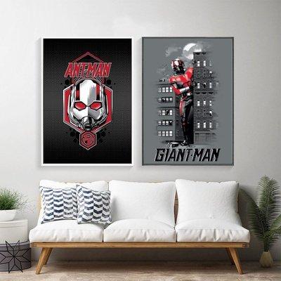 C - R - A - Z - Y - T - O - W - N 蟻人與黃蜂女Ant Man電影海報封面掛畫漫威裝飾畫