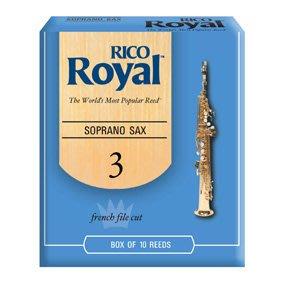 【華邑樂器27218-1】Rico Royal 高音薩克斯風竹片-2號 (Soprano Sax 10片裝)