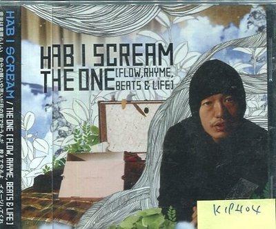 *真音樂* HAB I SCREAM / THE ONE 日版 全新 K19404