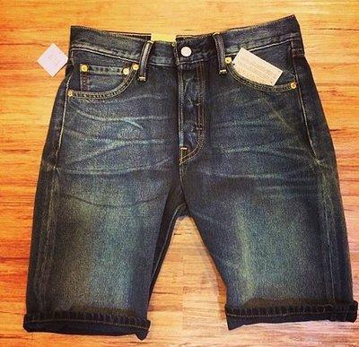【日貨代購CITY】日版 LEVIS 501 CLASSIC 牛仔 短褲 黑色 水洗 刷色 36512-0011 現貨