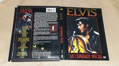 【李歐的二手洋片】片況幾乎全新 紙盒版 貓王 ELVIS '68 COMEBACK SPECIAL DVD