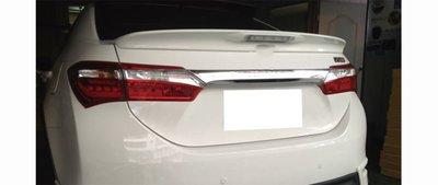 DJD19060612 TOYOTA Corolla 2014 LED 尾翼 後擾流 素材 含第三煞車燈