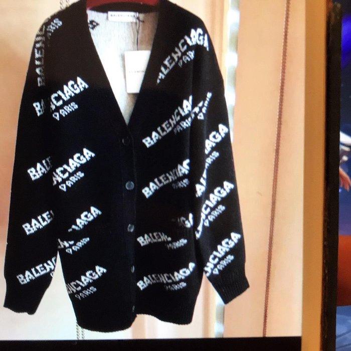 巴黎世家 Balenciaga 外套 黑色 S