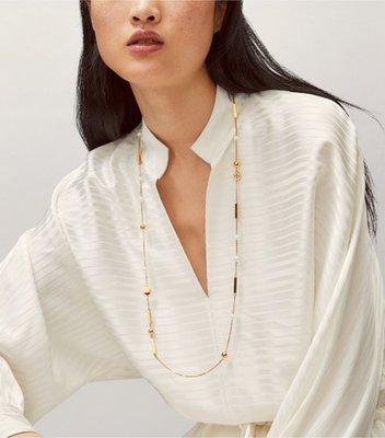 【全新正貨私家珍藏】TORY BURCH KIRA Scattered Rosary Necklace 長款項鏈毛衣鏈