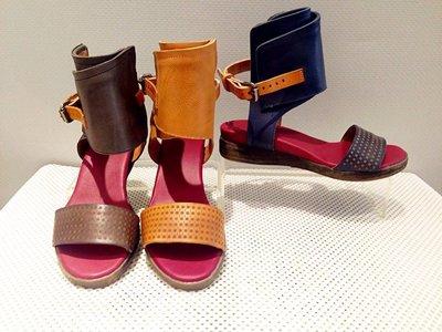 韓國流行植鞣牛皮羅馬女鞋 全真皮材質 免運費促銷活動