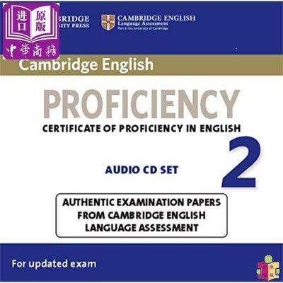 [文閲原版]Cambridge English Proficiency 2 Audio CDs (2) 英文原版 劍橋C