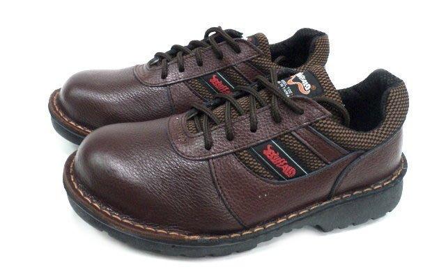 美迪~牛頭牌-型號Y3001B(HP)-工作安全鞋-防釘款~咖款-(檢內登字第63596號)