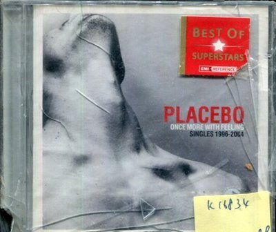 *真音樂* PLACEBO / ONCE MORE WITH FEELING 全新 K16834 (殼破)
