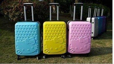 【易發生活館】Hello Kitty拉桿箱可愛旅行箱萬向輪密碼登機箱時尚24吋
