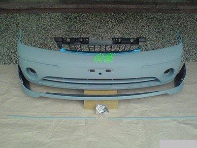 FORD TIERRA-03~06 SE RS AERO 全新 前保桿 附下巴與飾條