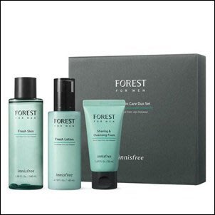 藍色海洋的傳說 繼承者們 李敏鎬代言 韓國 INNISFREE FOREST FOR MEN 森林男士清新刮鬍護膚三件組