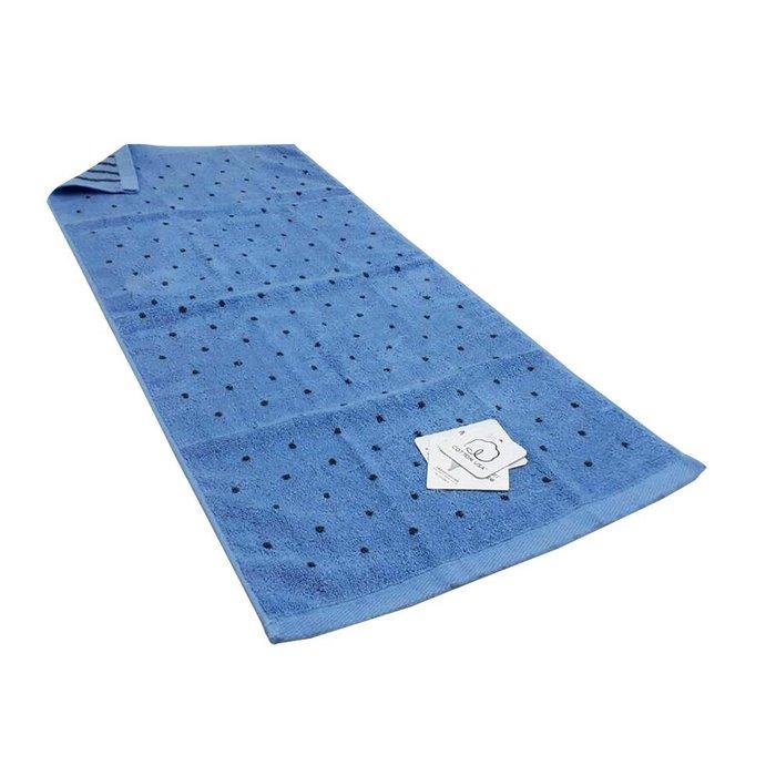 【MORINO摩力諾】美國棉色紗圓點毛巾(超值2條組)免運