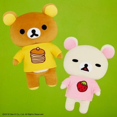 41+ 現貨不必等 正版授權 日本景品 拉拉熊 鬆餅裝 絨毛娃娃 牛奶熊 SS9471 my4165