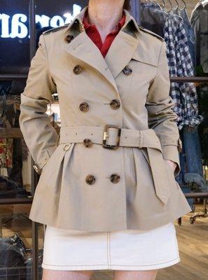 Burberry 3982797 Sandringham Heritage Trench Coat 經典短版風衣