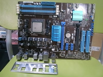 高雄路竹--華碩M5A97 LE R2.0主機板(含檔),加FX-6300 六核心,加獨顯2GB