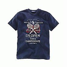 Polo Ralph Lauren 小男孩US Open 深藍色短袖棉T(3T) (29410)~全新正品