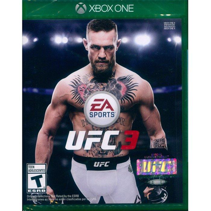 (現貨全新) XBOX ONE UFC 終極格鬥王者 3 中英文美版 EA SPORTS UFC 3