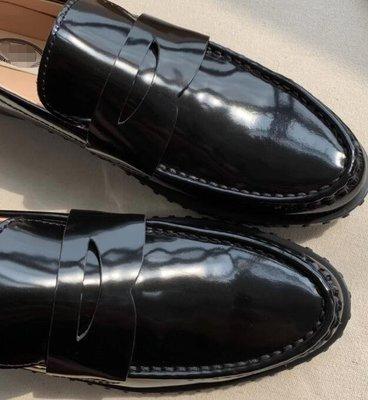 MAMA/T真皮豆豆鞋