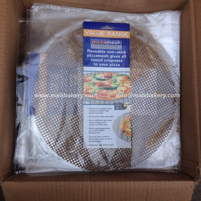 聚吉小屋 #熱賣#外貿出口 耐高溫烘焙不粘網 烤盤墊 披薩格烤肉烘焙面包加熱格墊(價格不同 請諮詢後再下標)