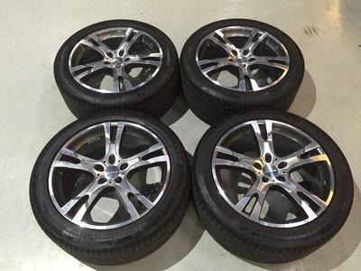 【 成佳汽車 】LORINSER 賓士BENZ G CLASS 21吋鋁圈含馬牌胎 極新 W463 G500 G63