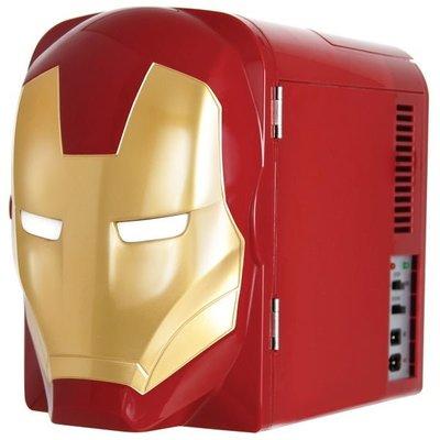 預購 美國帶回 漫威 英雄 MARVEL 鋼鐵人迷你冰箱 行動小冰箱 Mini Fridge Cooler 4L