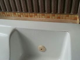 優質精品衛浴 (固定式浴缸特殊乾式工法,施打防霉膠) 壓克力浴缸修補美容施工圖1份