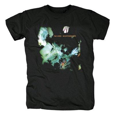 The Cure-Disintegration新浪潮 后朋克 另類流行搖滾男士圓領T恤