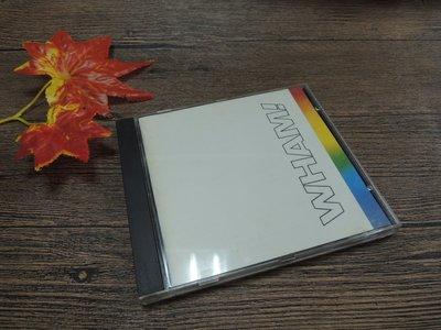 Q2001-二三十年前二手CD】轟合唱團-WHAM-THE FINAL解散紀念專輯-careless whisper等1