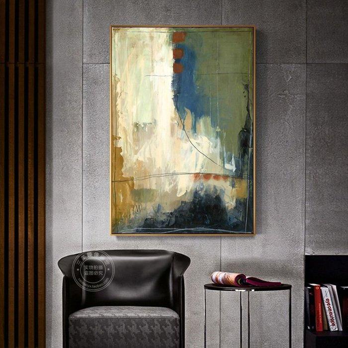 斑駁做舊復古歐式現代室內裝飾畫巨幅酒店會所大幅掛畫客廳壁畫(3款可選)