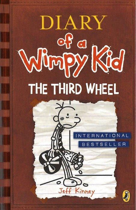 *小貝比的家*DIARY OF A WIMPY KID #7: THE THIRD WHEEL/平裝/7-12歲