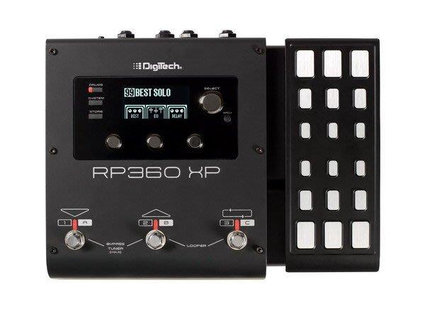 ☆ 唐尼樂器︵☆ Digitech RP360XP 最新款綜合電吉他效果器(附原廠變壓器)