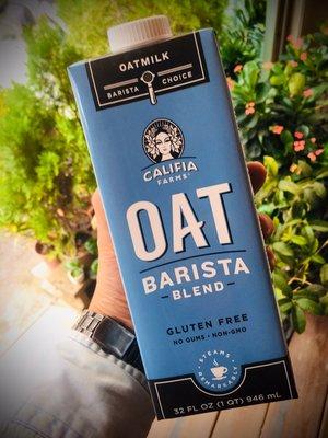 美國 Califia Farms 無糖燕麥奶 - 咖啡師配方 946ml 全素 效期2021.6月