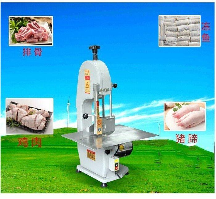 商用鋸骨機台式電動鋸骨機不鏽鋼切骨機割骨機鋸豬蹄機鋸豬排骨機