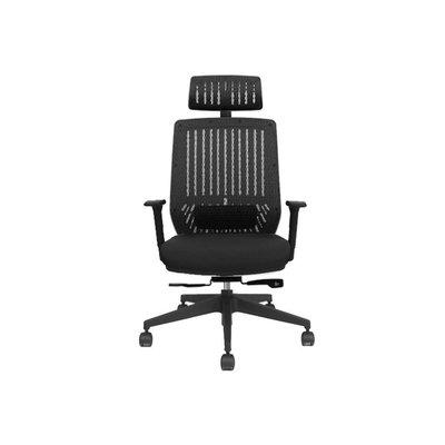 【BNS&振興優選】台灣製BACKBONE-Peacock黑框款華麗機能工學椅/椅子