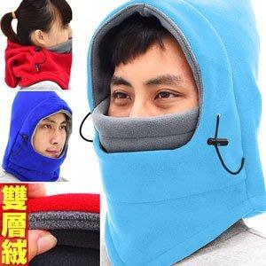 哪裡買⊙加厚雙層絨保暖頭套E010-02 防寒防風面罩.全罩式口罩魔術頭巾.保暖圍巾脖圍脖頸套.蒙面帽抓絨帽子機車騎行