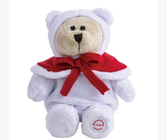 天使熊雜貨小舖~Starbucks 星巴克2019女耶誕熊寶寶  全新現貨