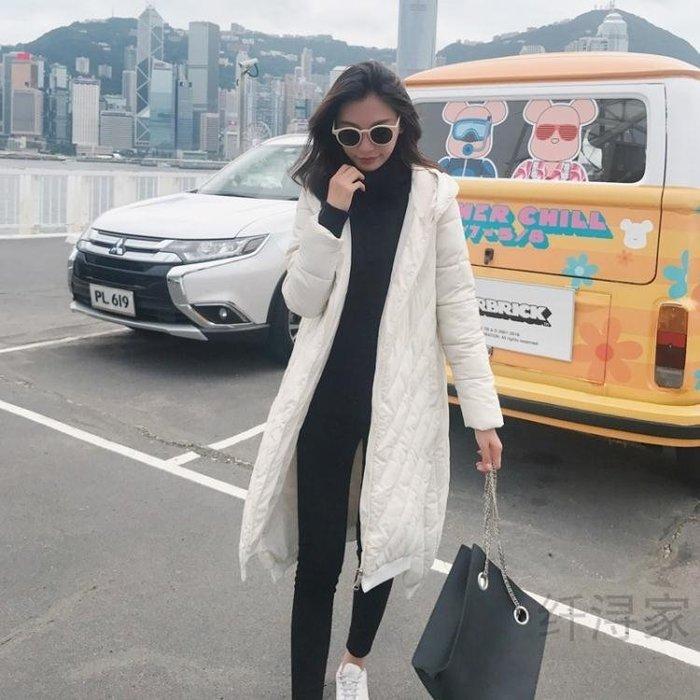 羽絨服 冬季新款氣質中長款羽絨棉服女韓版面包服休閒復古外套