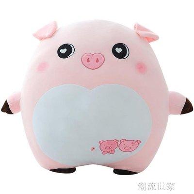 豬毛絨玩具娃娃女生大號玩偶可愛女孩公主抱著睡覺的懶人抱枕公仔igo
