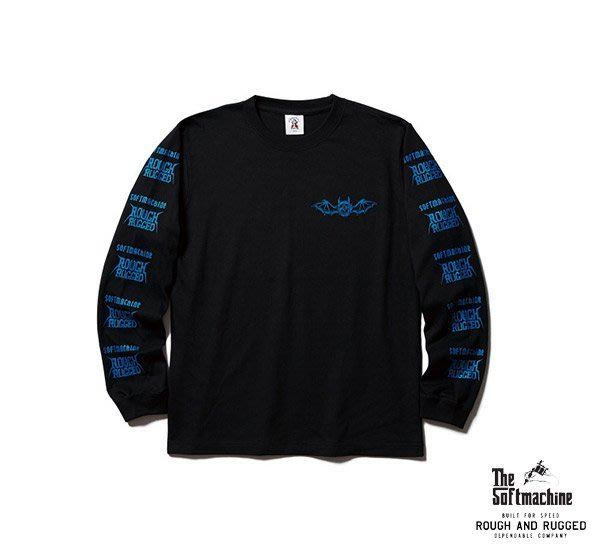 GOODFORIT / 日本Softmachine HELL RIDE L/S Tee週年限定暗黑元素長袖上衣