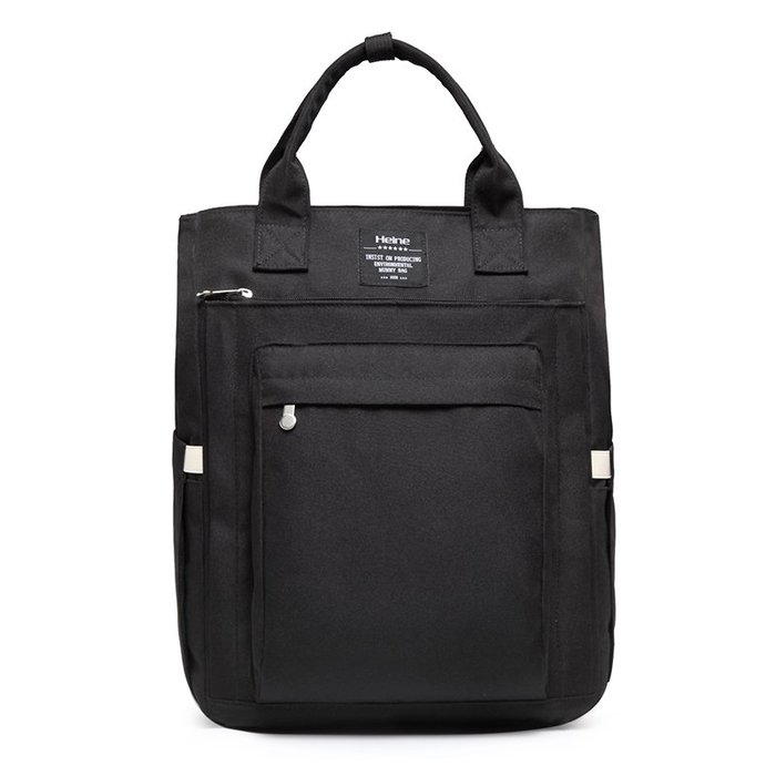 Heine海恩 WIN-0209 後背包 大容量 多夾層收納款 黑色
